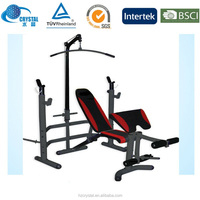 Olympic Compact Multi Weight lifting bench witth leg lift Gym Exercise Equipment