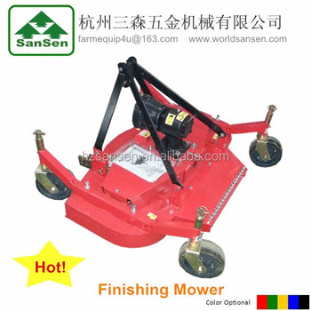 FM150 Finishing Mower for tractors;Tractor lawn mower grass cutter