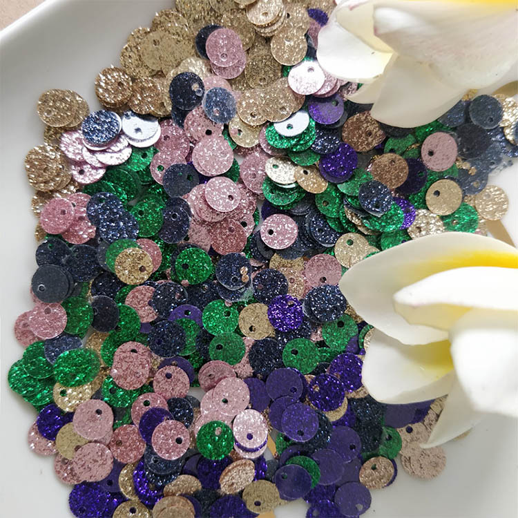 Fast delivery free sample PVC Sequin paillettes