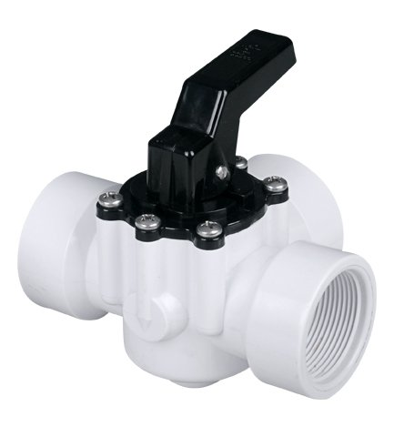 "Fibropool 3 Way Diverter Pool Valve 1 1/2"" Female Threaded"