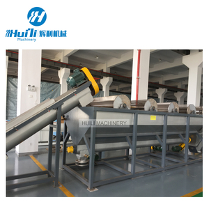 Plastic recycling washing and crushing line tunisia separating machine