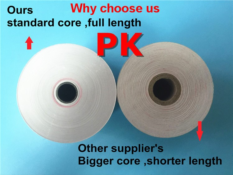 yellow thermal paper for tax machines