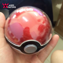 2016 New Design Pokemon Power Bank 12000mAh Pokemon Go Poke Ball Shape Power Bank USB LED