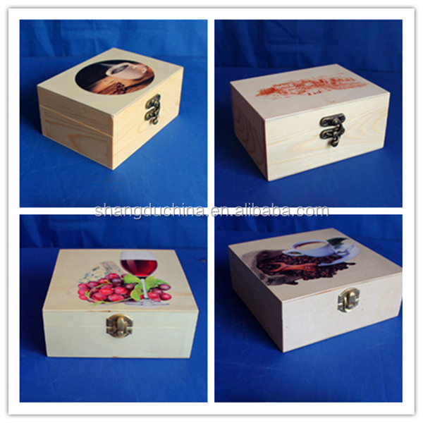 Small laser cut fancy wooden gift box wholesale buy for Mini tin mailboxes for crafts