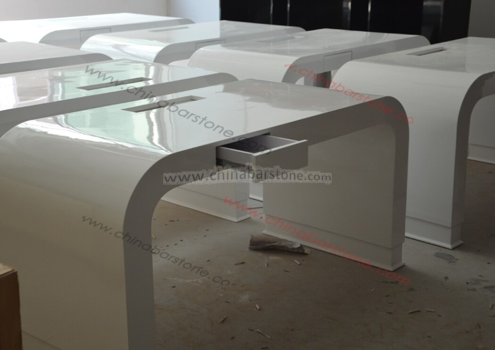 Modern Office Bureausolid Surface Deskoffice Furniture With