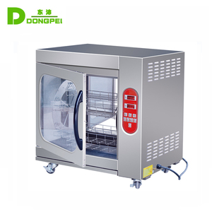 Stainless steel Electric Chicken Rotisserie/ Commercial Electric Rotisserie Oven