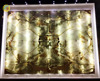 TV background wall panel polished backlit yellow marble onyx price