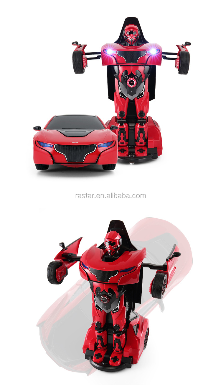 RASTAR RS robots toy remote control car transform battle robot