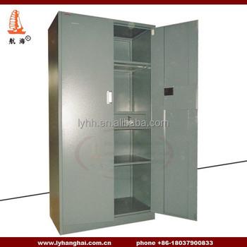 Double Door Metal Decorative Filing Cabinets 2 Drawer Include Knock Down Steel Swing Cabinet