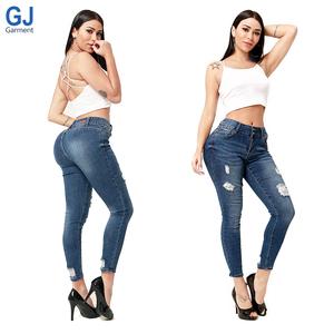 8820cb3402 Fashion Nova Push Up Butt lift Colombian Levanta Cola Femme Female Style  Skinny Sexy Tight Denim Pantalones Jeans For Girls