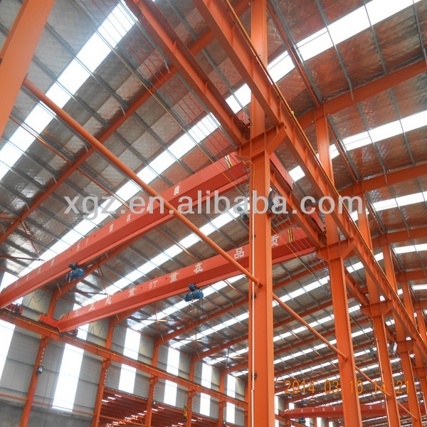 Modern Steel framed industrial building