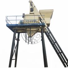 75 cbm concrete batching plant with JS1500 twin shaft concrete mixer