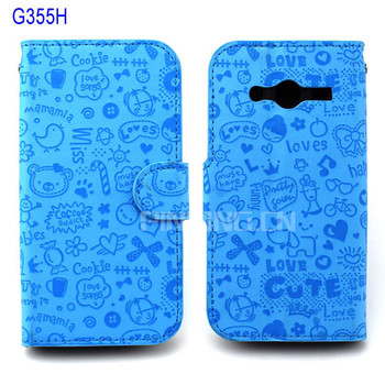 low priced 6d351 67535 For Samsung Galaxy Core 2 G355h Case,Wallet Leather Flip Cover Case For  Samsung Galaxy Core 2 G355h - Buy For Samsung Galaxy Core 2 G355h  Case,Cover ...