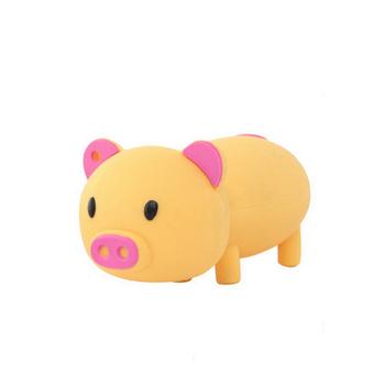 Babi Merah Muda Karet Usb Flash Memory 8 Gb Kartun Hewan Babi Usb