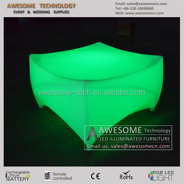 led furniture bar / led table top / living room furniture design tea table