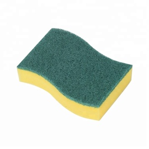 kitchen cleaning sponge Abrasive Scouring Pad for dish cleaning pad