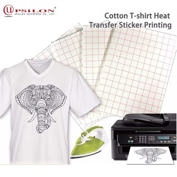 Cotton T-shirt Heat Transfer Sticker Printing