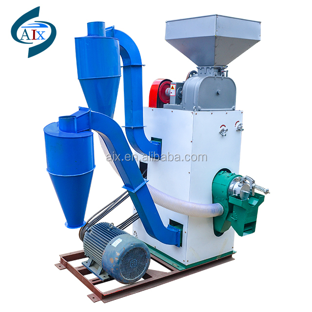 High efficiency N15-13 rice mill and rice huller with diesel engine
