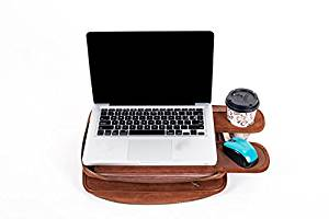 Get Quotations · TaboLap Laptop Bag Converts Into A Lap Desk With Cup Holder  And Mouse Pad | 13