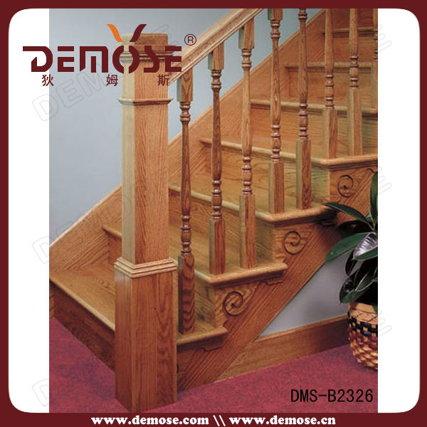 Indoor wood stair railings idea buy wood stair railing for Escalier interieur pas cher
