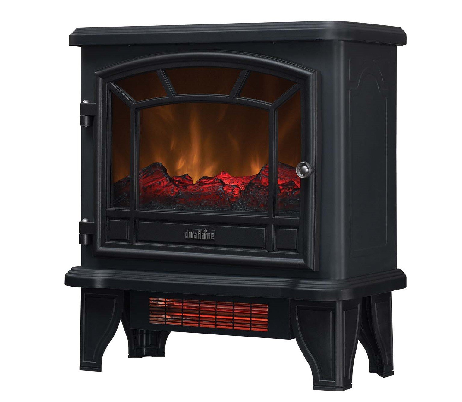 Duraflame Infrared Quartz Electric Stove Heater, Black - DFI-550-36