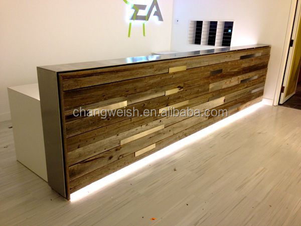 hotel reception counterwood people counter design - Hotel Reception Desk Design