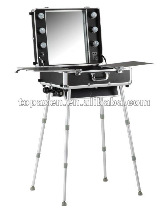 Marvelous Portable Make Up Station On Wheels   Buy Portable Make Up Station On Wheels,Make  Up Station,Makeup Station With Lights Product On Alibaba.com
