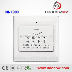 Low power new model mk electric switch manufacture,high efficient electric switch for hotel or home(DH-K003)