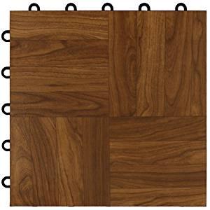 Buy Greatmats Max Tile Laminate Floor Tile Pack Dark Oak Color - Cheap laminate flooring packs