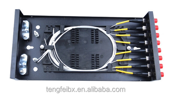 Optical Fiber Cable Connection Box Splicing Tray Optical