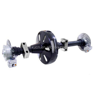 Trike rear axle differential for electric tricycle