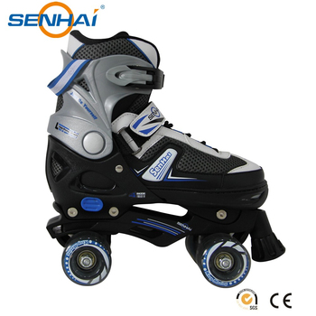 2015 Adjustable Roller Skate Sports Shoes Quad Roller Blades Shoes ...