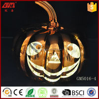 craft wholesale artificial pumpkins with led light