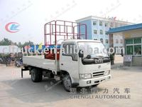 Dongfeng 4*2 hydraulic scisssor lift table truck sale