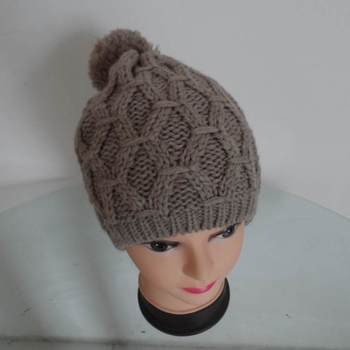 Free Adult Beanie Knitting Patterns Winter Crochet Hat For Girl
