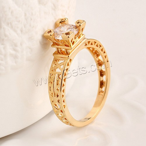 New Design Gold Finger Ring Zinc Alloy Finger Ring Latest Gold