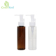 travel bath set 50ml plastic PP small lotion pump shampoo bottle