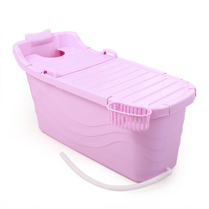 Cheap colorful Plastic Portable Bathtub For Adults