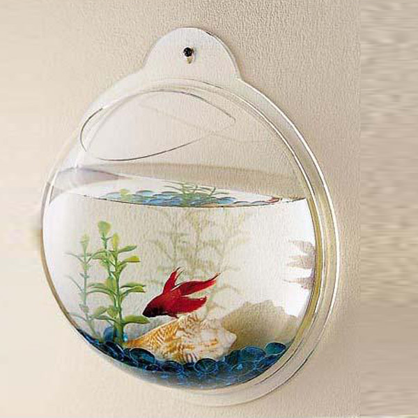 Chinese Professional Supplier Cheap Acrylic Wall Art Decor for Fish and Plant Tank