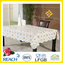 Table de PVC tissu made in China