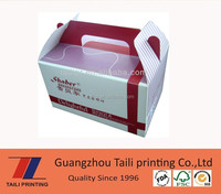 Hot sell custom printed cake boxes singapore