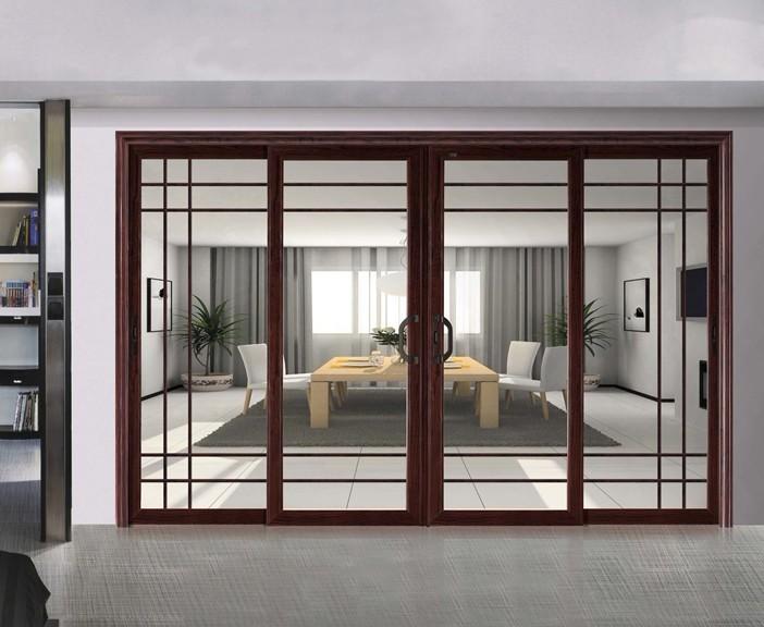 Aluminium sliding shop front door glass sliding doors for Aluminium sliding patio doors