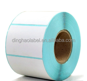 Best selling cheap adhesive stock lot thermal paper label