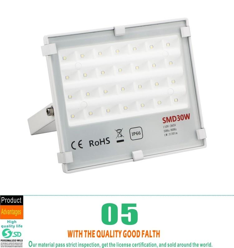 High Power Ultra Slim Outdoor Waterproof Ip65 10w 20w 30w 50w 80w ...