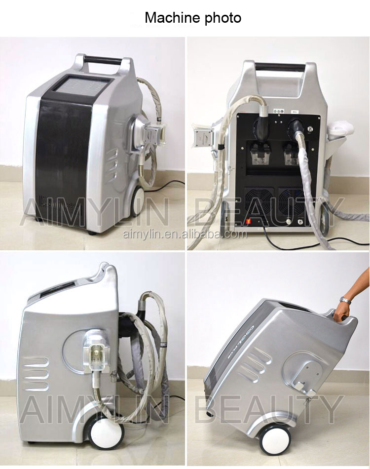 Four cryolipolyse handles cool body fat freezing sculpting coldlipolysis vacuum cryolipolysis machine