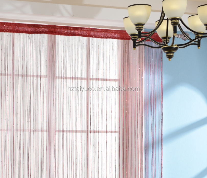 Unique Shiny String curtain with sequins for exhibition stand