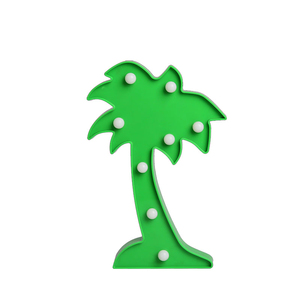 Top sale high assessment most popular mini marquee light led coconut tree light