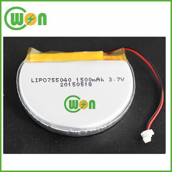 Bend Li Polymer Battery 65mah Rechargeable Lithium Polymer 3.7v ...