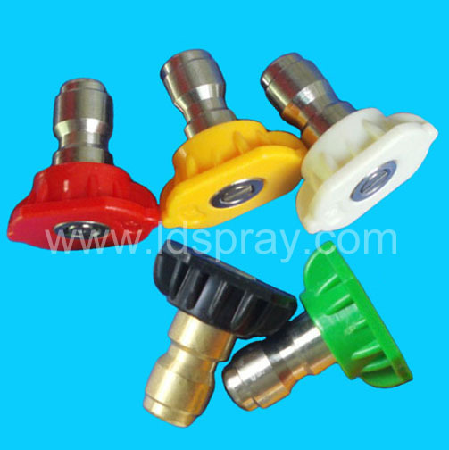 Factory Price good quality PVC flat fan spray nozzle in dongguan