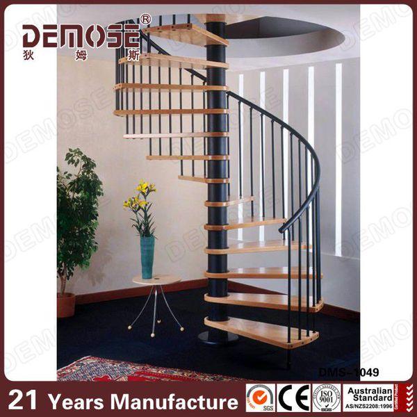 diseo interno residencial pasamanos escaleras con metalprecio de escalera de caracol de madera